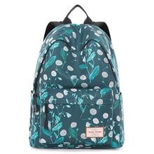 Brand New Women Floral Printing Backpack for Teenage Girls 2019 Mochila Feminina Canvas Breathable School Bag Female Sac A Doc
