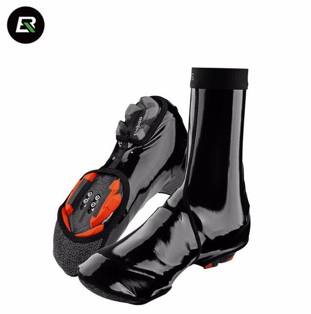 ROCKBROS רכיבה על אופניים כיסוי הנעל קופריסקארפ Ciclismo Waterproof MTB כביש אופניים אופניים אופניים הנעל מכסה Overshoes אביזרים כיסוי חם