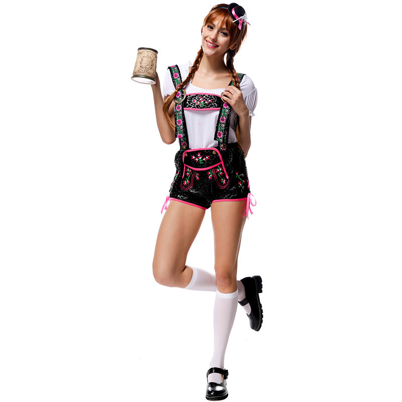 Flirty Lederhosen costume-in Holidays Costumes from Novelty u0026 Special Use on Aliexpress.com | Alibaba Group  sc 1 st  AliExpress.com & Flirty Lederhosen costume-in Holidays Costumes from Novelty ...