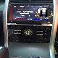 1 unids botón Audio para ALFA ROMEO cruz roja Logo emblema etiqueta Insignia de Mito 147 156 159 166 40 MM