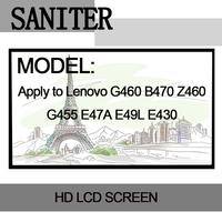 SANITER Apply To Lenovo G460 B470 Z460 G455 E47A E49L E430 14 0 Laptop LCD Screen