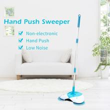 Cheap price 1PC Sweeper Hand Push Sweeper Broom Non Electronic Besom with Telescopic Rod for Household Cleaning L50