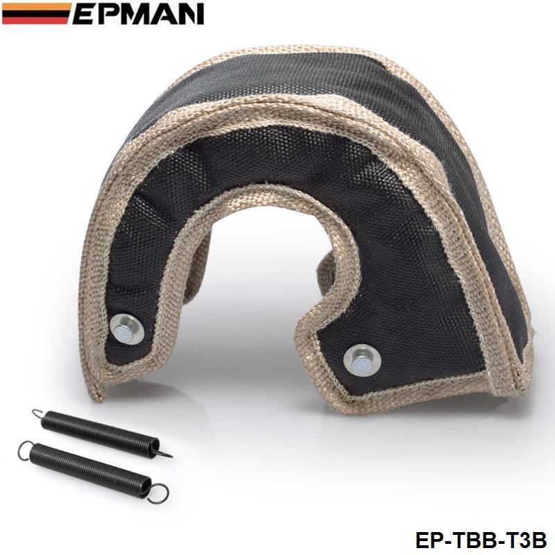 H q t3 turbo cobertor de fibra de vidro apto: t2, t25, t28, gt30, t35, EP-TBB-T3B