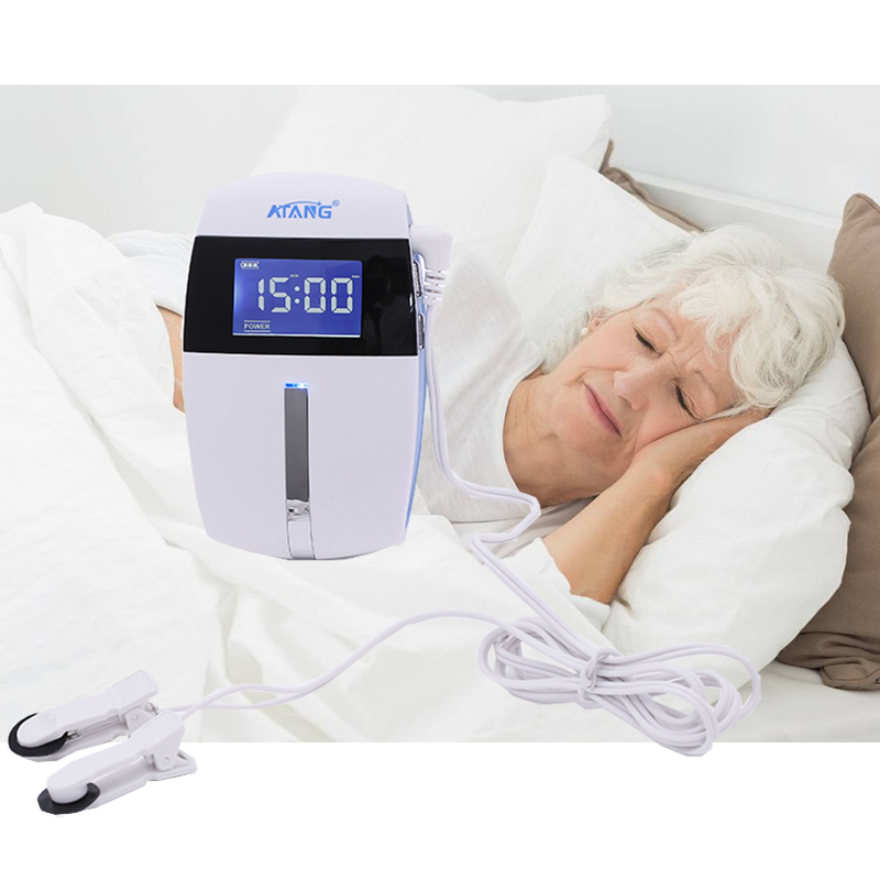 Insomnia Therapy ATANG 2018 Anxiety Relief Alpha-Stim Electronic Acupuncture Apparatus Sleeping Aid Device CES Anti Depressed ces therapy device physical therapy device treat insomnia