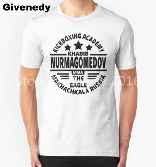 Khabib Nurmagomedov logo Para Hombre y Para Mujer de Letras Frescas MMA camiseta