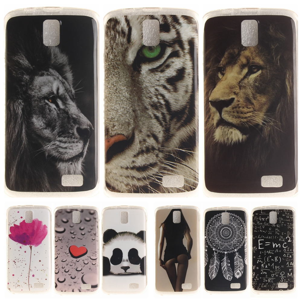 Cartoon <font><b>Phone</b></font> <font><b>Case</b></font> for Coque Lenovo A328 A328T Soft Silicone Cover for Lenovo A 328 <font><b>Panda</b></font> Tiger Lion TPU Back Protective <font><b>Cases</b></font>