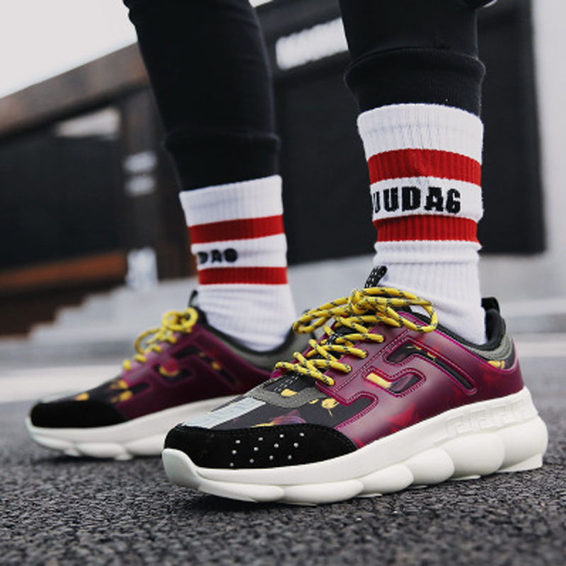 Hommes Chaussures sneakers 2018 d'été automne sneakers ultra-haute paniers respirant casual chaussures Sapato Masculino Krasovki Plus tailles