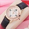 KEZZI Marca Mulheres Relógio De Luxo Roma Número Rhinestone Cristal Dress Watch Moda Casual relógios de Pulso de Quartzo Dames Horloges Novo