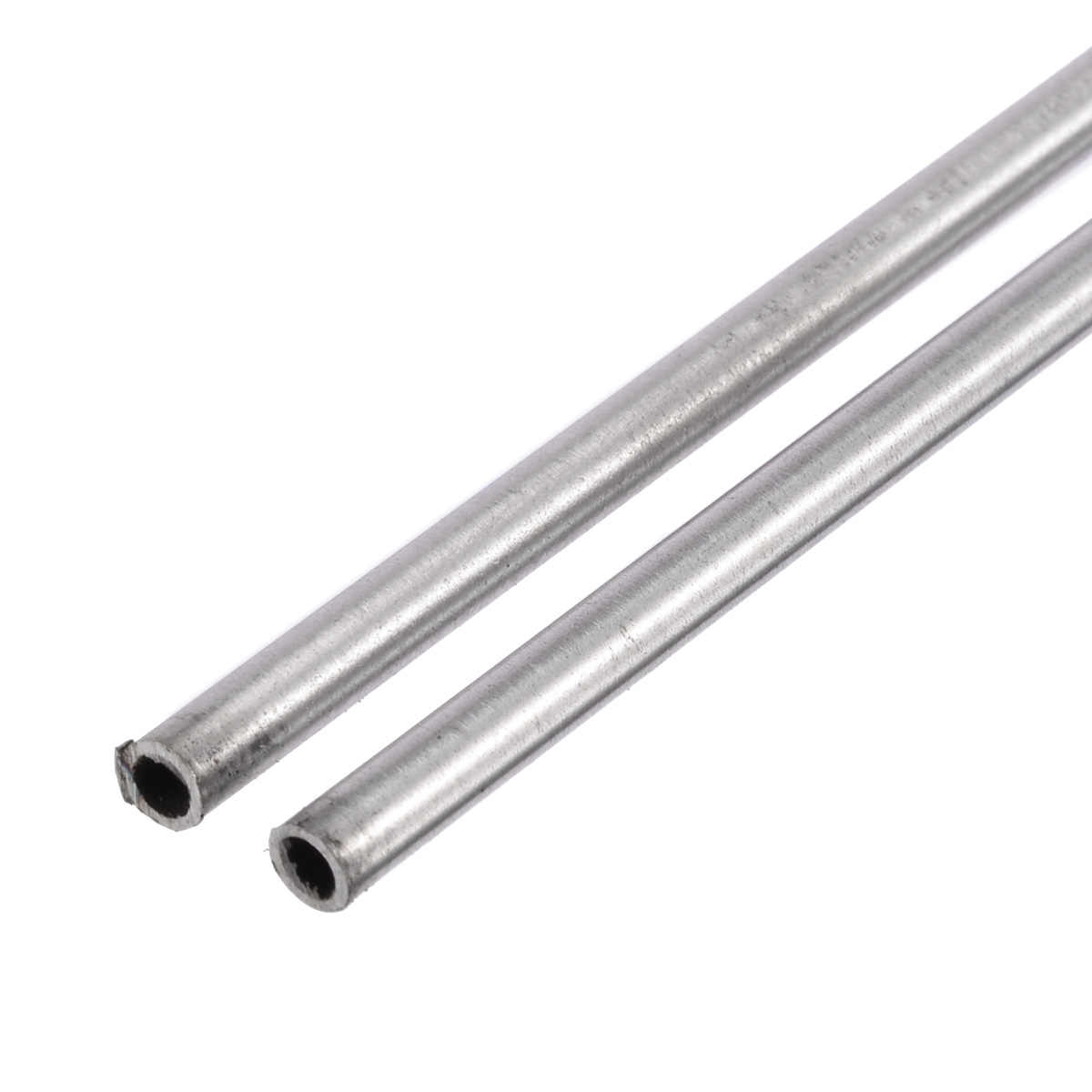 Length 250mm #E4-W252 2pcs  304 Stainless Steel Capillary Tube OD 4mm x 3mm ID