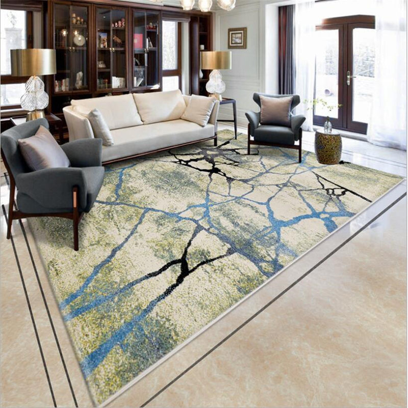 New Fashion Hot Carpets For Living Room Bedroom Kid Room Rugs Home Carpet Floor Door Mat Delicate PP Material Large Area Rug