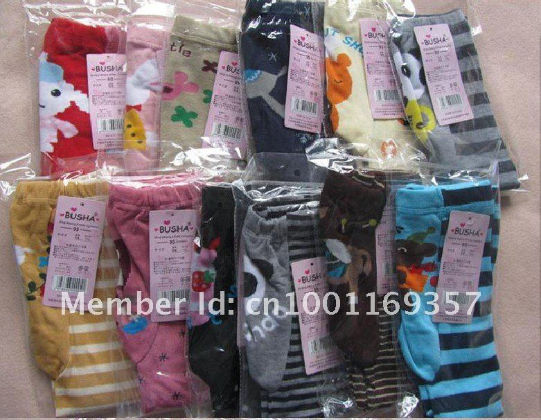 108 шт., 6 групп, штаны Busha PP(36 цветов), детские штаны, штаны для маленьких мальчиков и девочек, детские леггинсы
