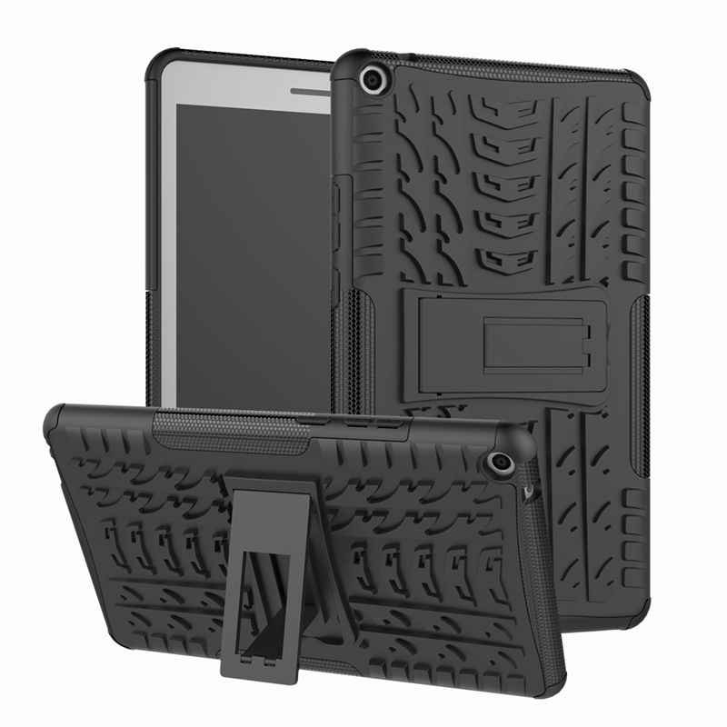 Case For Huawei MediaPad T3 8.0 KOB-L09 KOB-W09 Cover Heavy Duty 2 in 1 Hybrid Rugged Durable Funda Tablet Stand Shell Capa