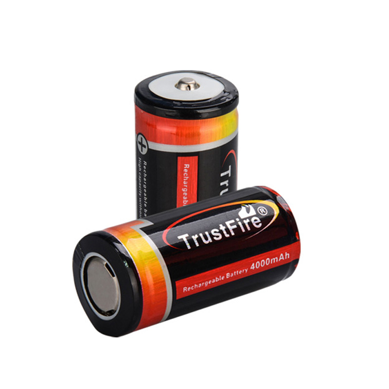 TrustFire 25500 3.7V 4000mAh Li-ion Rechargeable Battery with PCB Protected (1 pair) купить в Москве 2019