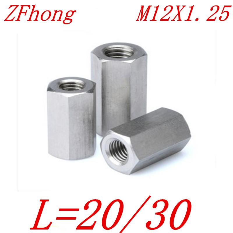 Metric 30 Threads 1.25 Pitch Lot of 20 M12 Hex Nuts