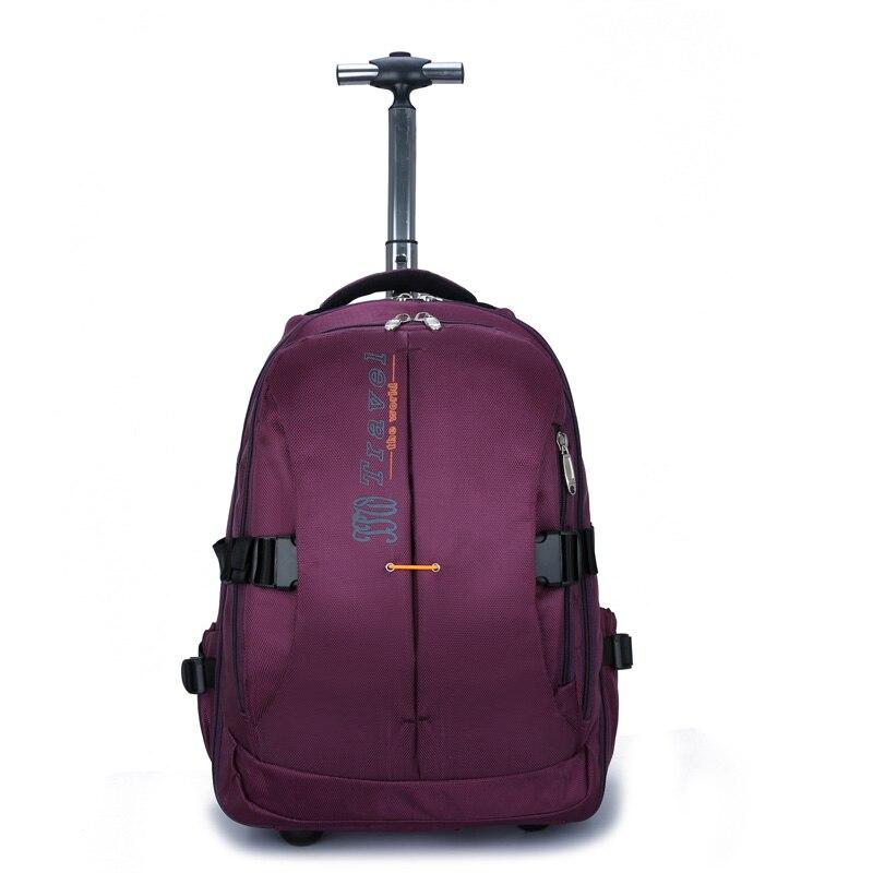 wenjie bror ny stor kapacitet rullandeBackpack Bag affärs män och - Väskor för bagage och resor - Foto 2