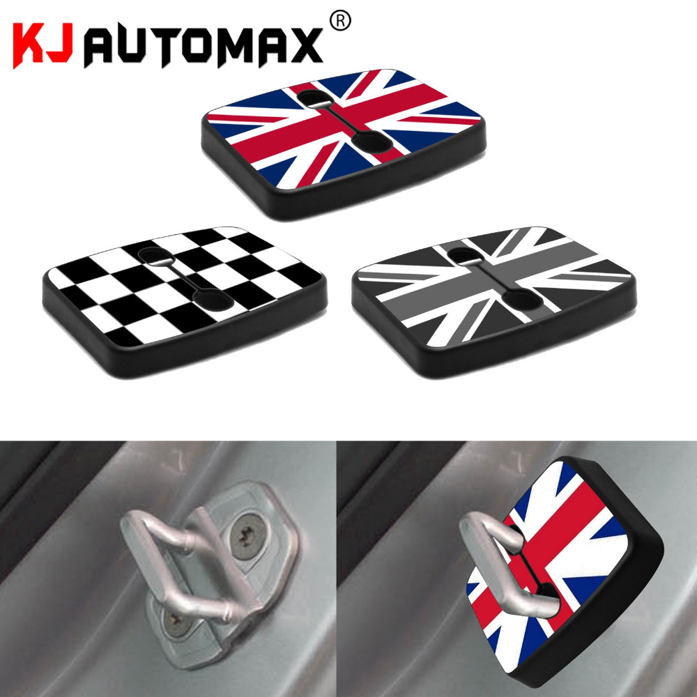 Car Styling For Mini Cooper R60 Door Lock Buckle Cover Protection Shell Personality Accessories