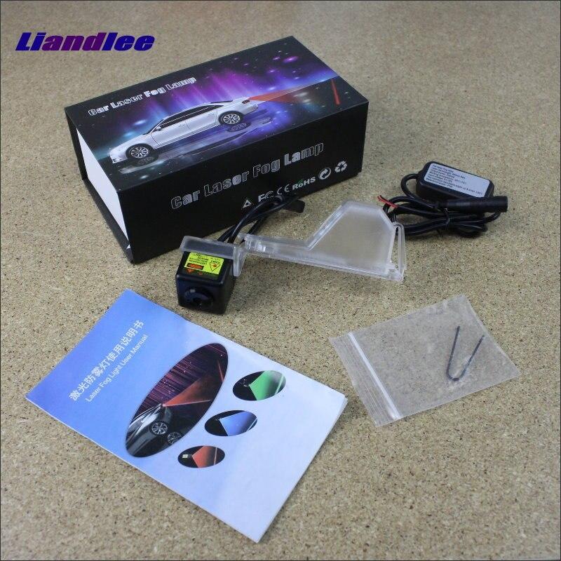 Liandlee Luci Auto Refitting Accessori Per Ford Edge 2007 ~ 2014 Luce Laser lo Scontro a Posteriori Avvertimento Fari Fendinebbia fanali posteriori
