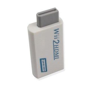 Image 4 - Hdmi dönüştürücü adaptör, wii için hdmi1080p 720p konektörü çıkış Video ve 3.5mm ses destekler tüm Wii ekran modları