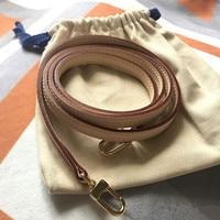 Bag Parts & Accessories Brand Bags Genuine Leather Strap Length 125cm Handbag High grade Vegetable Tanned Leather Shoulder Strap