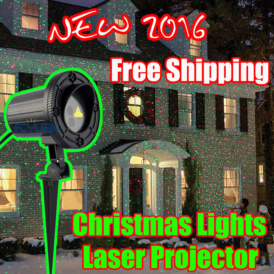 Outdoor Laser Holiday Lights Christmas Tree Projector With Remote Red Green Color Moving Effect Waterproof Laser Light ip65 remote outdoor waterproof elf laser light christmas lights outdoor laser projector red green moving light projector