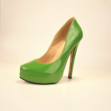 2015 Plus Size Women Pumps Cheap Slip On High Thin Heels Fashion Ladies Shoes Luxury Shoes For Women Hot Sale Chaussure Femme