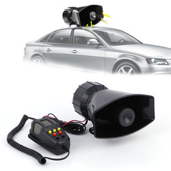New 120dB Loud Warning Security Alarm Police Fire Car Ambulance Broadcasting Air Horn Ceiling Speaker Public Address System