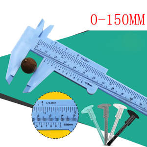 Tools Best-Selling Plastic Mini Student 150mm 1pcs Caliper-Gauge-Measurement-Tool Sliding-Vernier