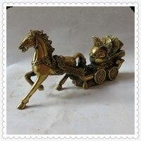 Медь лошадь Desay бизнес подарки ремесла украшения богатых бронзовые украшения сразу фэн шуй украшения домашнего интерьера