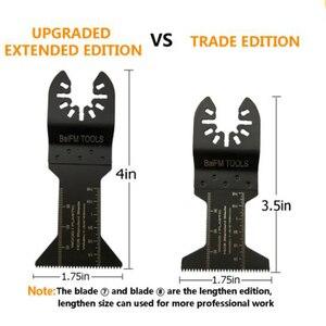 Image 2 - 16 pçs oscilante multi função universal lâmina de serra cortador aço carbono para diy renovador