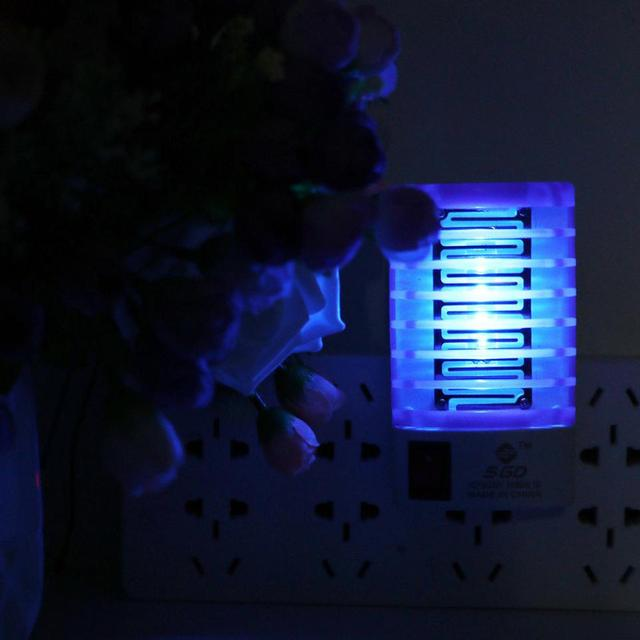 Electric Mosquito Insect Trap Night Lamp