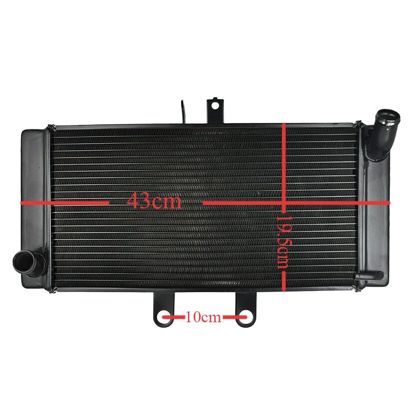 LOPOR For SUZUKI Bandit GSF1250S GSF1250 2007 2008 2009 GSF 1250 2007-2009 Motorcycle Aluminium Radiator