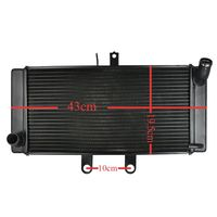 Motorcycle Aluminium Radiator For SUZUKI Bandit GSF1250S GSF1250 2007 2008 2009 GSF 1250 07 09