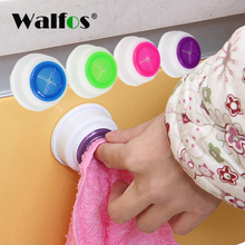 WALFOS 1 piece Wash Cloth Clip Holder Dishclout Storage Rack Towel Clips Hooks Bath Room Hand