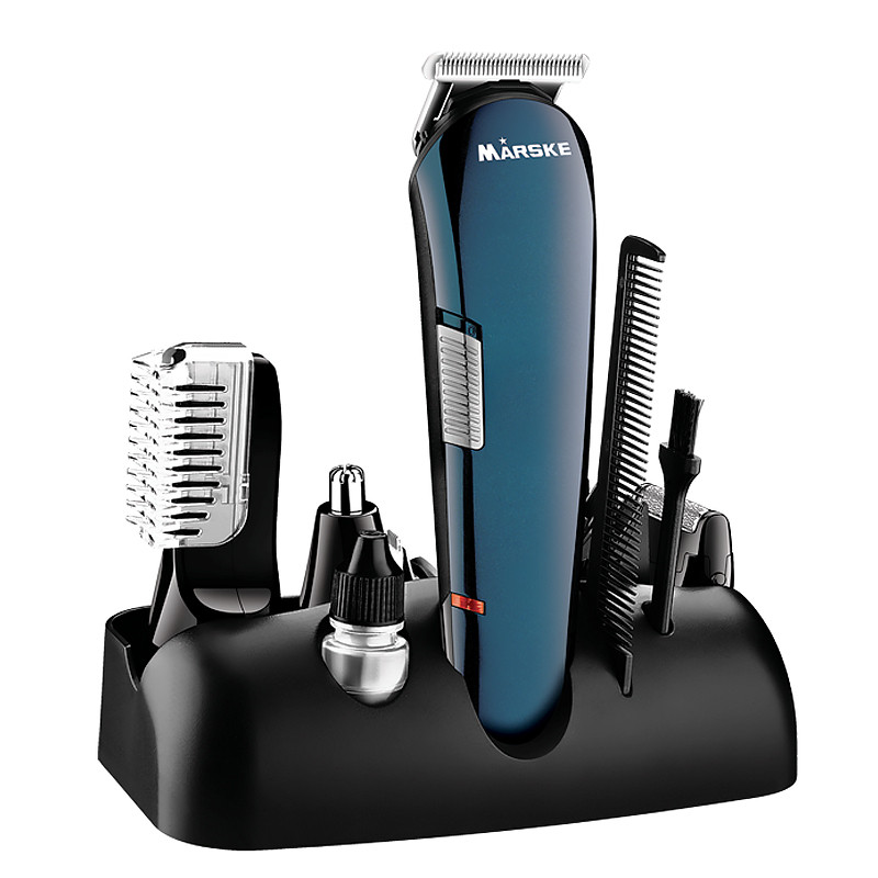 5 in 1 Hair Shaver Razor Beard Trimmer Rechargeable Hair Trimmer Clipper Set Professional Men Styling