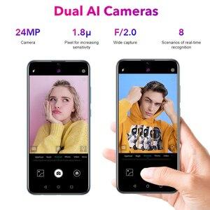 Image 3 - 名誉10 lite 128ギガバイトグローバルバージョンmobilephoneに6.2インチ3400mahのandroid 9 24MPカメラスマートフォンgoogleのプレイotaアップデート