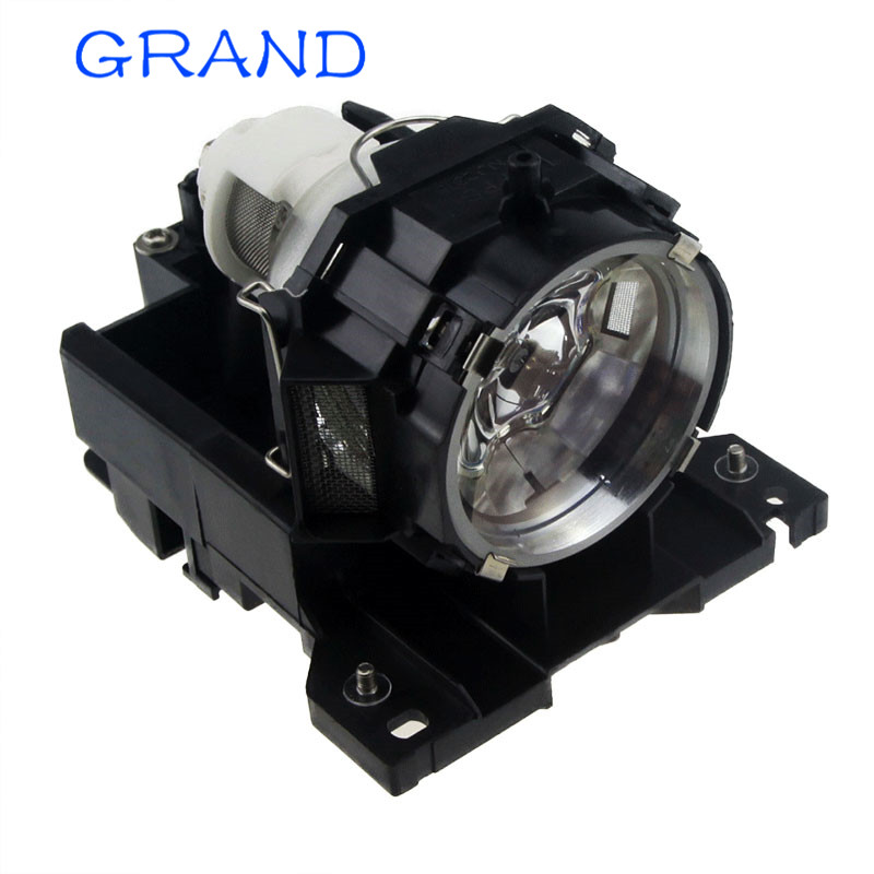 Replacement projector lamp DT00771 for Hitachi CP-X505 CP-X605 CP-X608 CP-X600 HCP-7000X HCP-6600X HCP-6600 HCP-6800X  Happybate fit hitachi cp wx8 cp wx8gf cp x2020 cp x2520 cp x3020 ed x50 hcp 2250x hcp 2700x hcp u25e projector replacement lamp dt01141