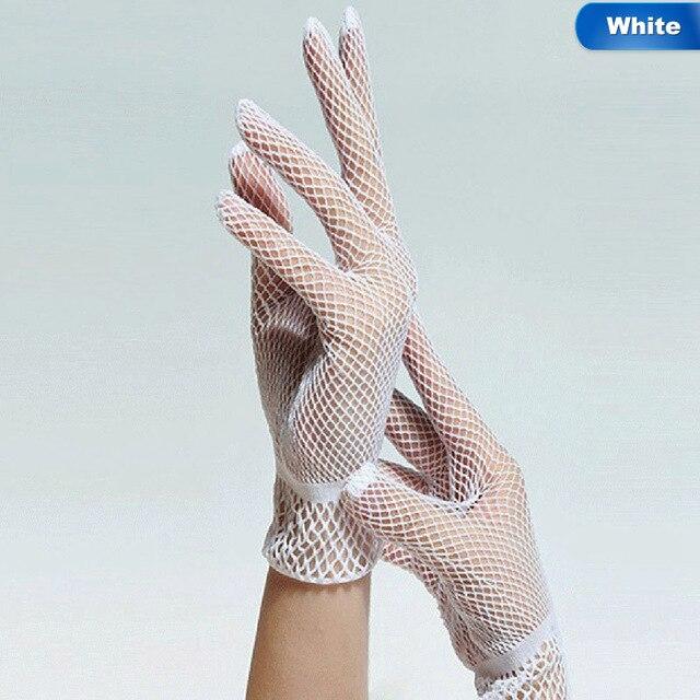 1 Pair Fishnet Mesh Glove...