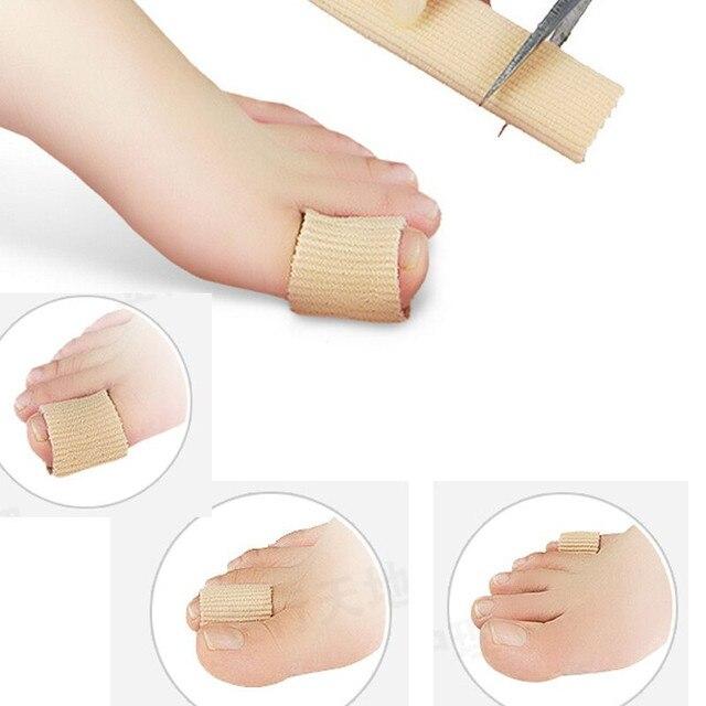 Nouveau soin des orteils en tissu Gel protège des callosités du Tube dorteil/cors