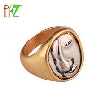Fj4z Новый дизайн модное простое кольцо на вечеринку ретро перстень