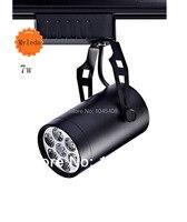 Free Shipping 7w LED Track Light LED Spotlight 85 100LM W 3000K 6000K AC85 265V