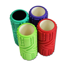 Multicolor 33cm EVA yoga column/Yoga Foam roller for Fitness and Body building
