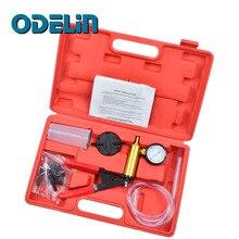 Hand Held Rem & Koppeling Bleeder Tester Set Bleed Kit Vacuum Pump Auto Motor