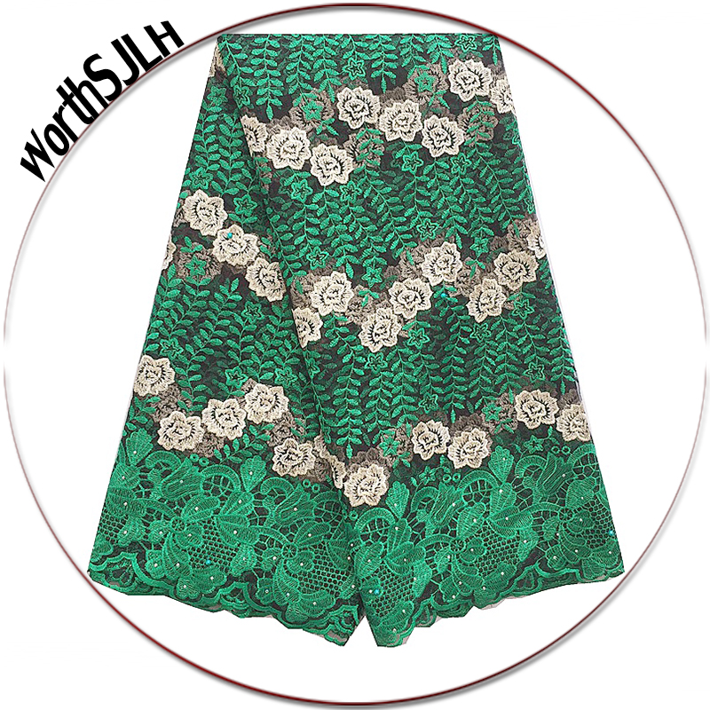 High Quality Nigerian Tulle Lace Material Green Peach Wine French Net Lace Fabric African Nigeria Lace