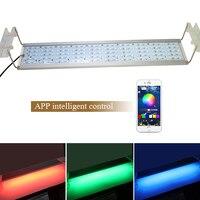 RGB SMD 5050 LED Light Aquarium Extendable Bracket Clip On Marine Led Fish Tank Light Lamp For Led Aquarium Light Fixture Holder