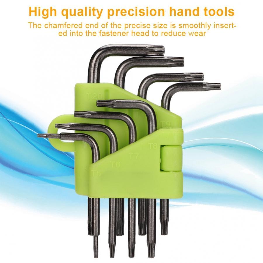 Tragbare Handy Computer Digitale Produkte Hexagonal Stern Wrench Set Feine Verarbeitung