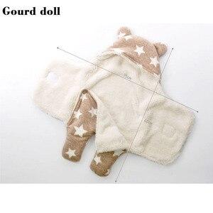 Image 4 - Yeni bebek bebek kış uyku tulumu olarak zarf yenidoğan koza sarma sleepsack, uyku tulumu bebek olarak battaniye ve kundaklama