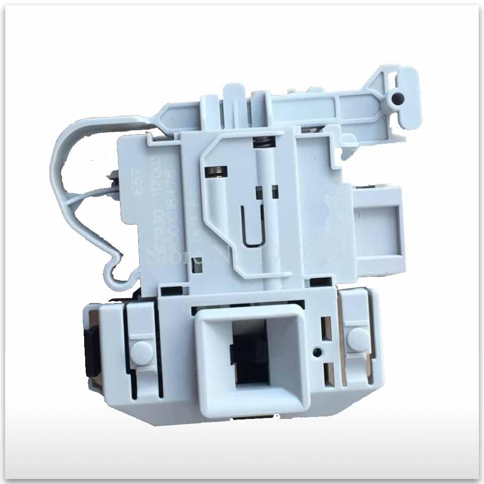 все цены на 1pcs new for siemens washing machine time delay switch door DKS65 DKS66 DKS67 DKS68 ai600b XQG50-92BT.92 3 plug door lock