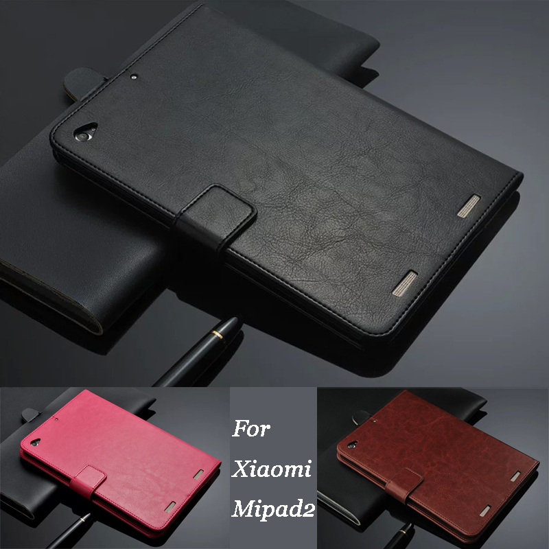 Fashion Luxury Leather Case for Xiaomi Mipad2 High Quality cases Flip Cover for Mi pad 2 Tablet PC Mipad 2 7.9inch Cover
