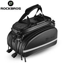 ROCKBROS Bike Bicycle Seat Bag Rear Backpack Trunk Cycling MTB Cycle Bike Bag Pannier Package Large Capacity Bicycle Accessories
