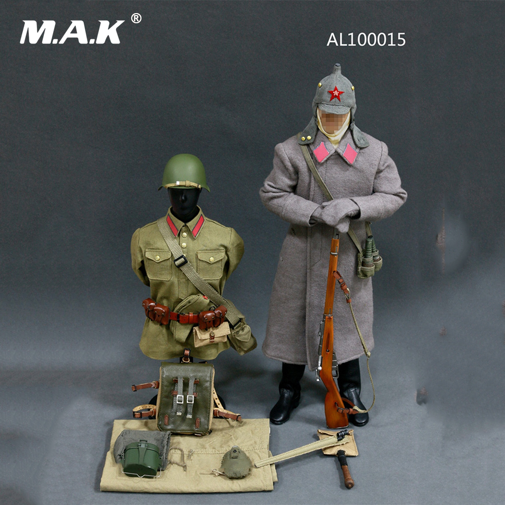 1/6 WWII Soviet Red Army Infantry Equipment Set Soldier Clothes Set For 12 Inches Action Figures 1 6 male clothes set military uniform wwii soviet army cossack cavalry clothes suit for 12 inches man action figure accessory